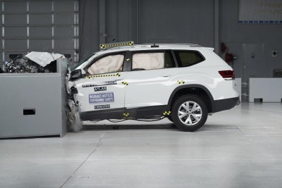 2018 Volkswagen Atlas Earns 2017 Top Safety Pick Rating From The Insurance Institute For Highway Safety