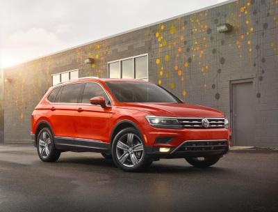 All-New 2018 Volkswagen Tiguan Starts At $25,345