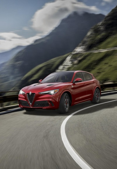 Alfa Romeo Debuts The 2018 Stelvio SUV Lineup At The 2017 New York International Auto Show