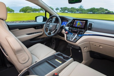 2018 Honda Odyssey Recognized With 'Wards 10 Best UX' User Experience Award