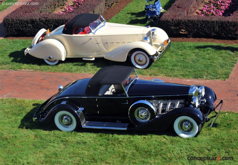 1929 Duesenberg SJ Convertible Coupe by Bohman & Schwartz