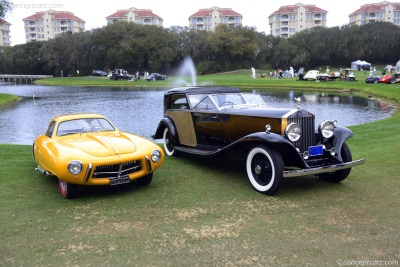 Amelia Island Concours d'Elegance Is Sole American Nominee For 2016 International Historic Motoring Event Of The Year