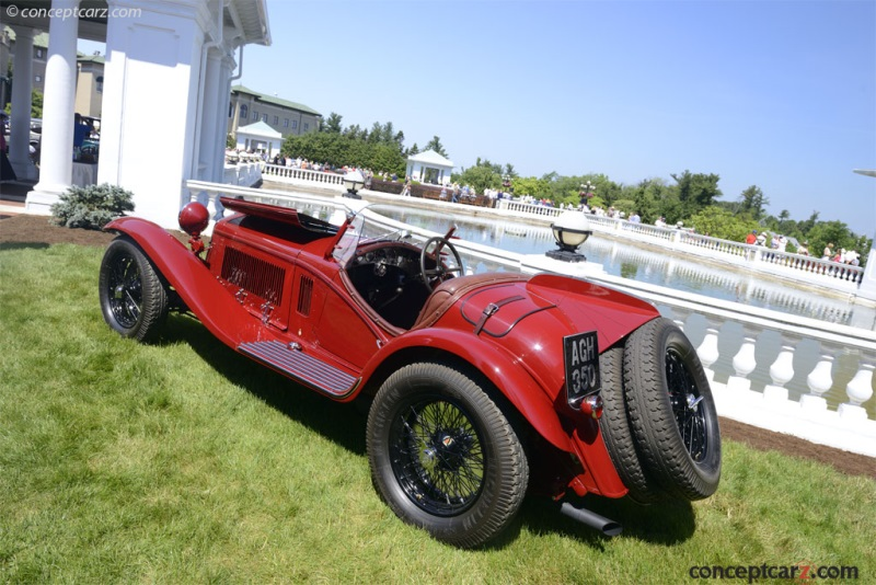 1932 Alfa Romeo 8C 2300 Spider by Touring