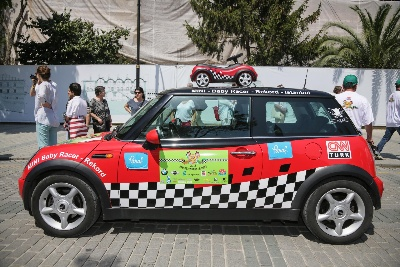350 Mini Baby Racers On The Way From The Allgäu To The Orient