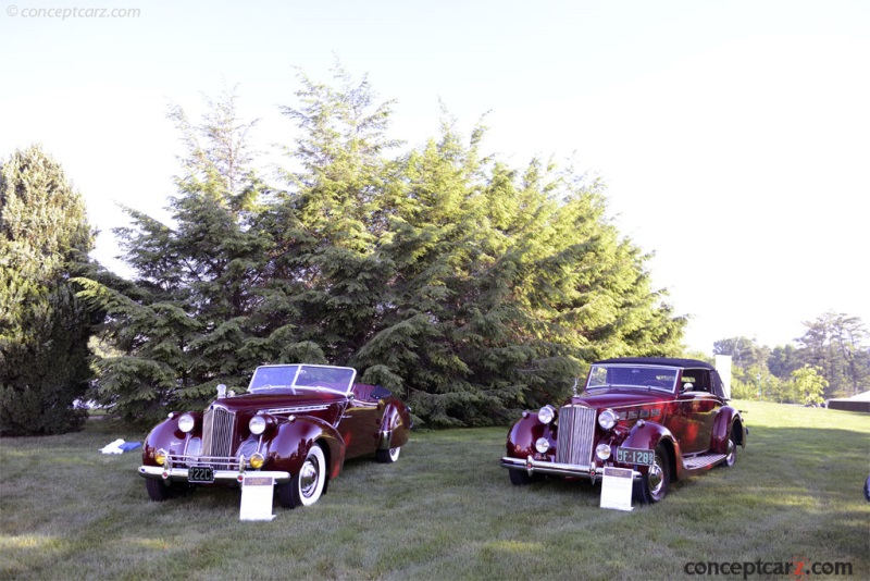 1937 Packard 120 Convertible Victoria