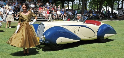 1937 Delahaye 135 Competition Court Torpedo Roadster by Figoni et Falaschi