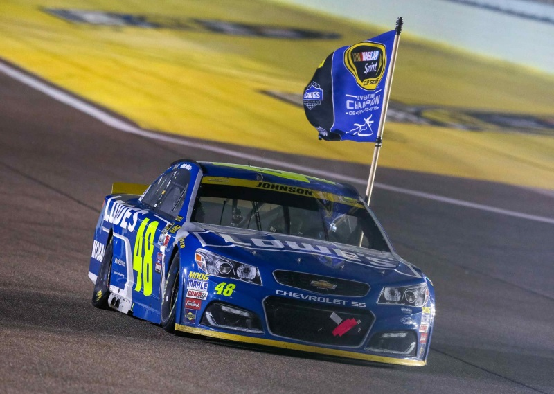 JIMMIE JOHNSON WINS RECORD-TYING SEVENTH NASCAR CHAMPIONSHIP