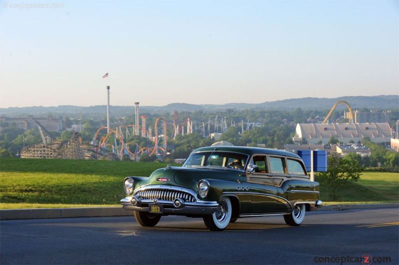 1953 Buick Super Estate Wagon by Ionia