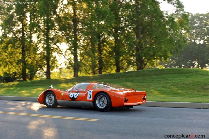 1966 Porsche 906 Carrera 6 Racing Prototype