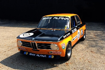 RESTORED 1970 BMW ALPINA 2002TI RETURNS TO THE TRACK AT 2014 ROLEX MONTEREY MOTORSPORT REUNION