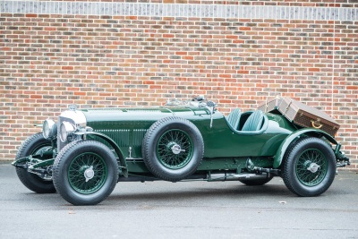 8 LITRE BENTLEY COMPLETE WITH LOUIS VUITTON LUGGAGE OFFERED FOR SALE BY WILLIAM MEDCALF VINTAGE BENTLEY