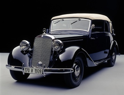 World premiere 80 years ago: In the genes of the E-Class: The Mercedes-Benz 170 V of 1936