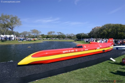 Streamliners At The Amelia Island Concours