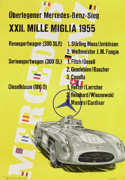 MILLE MIGLIA: MERCEDES-BENZ AS MAIN AUTOMOTIVE SPONSOR