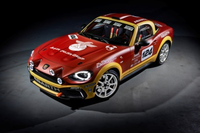ABARTH TO SHOW STUNNING NEW 124 RALLY AT AUTOSPORT INTERNATIONAL 2017