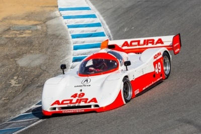 ACURAS, PAST AND FUTURE, STAR AT 2015 ROLEX MONTEREY MOTORSPORTS REUNION