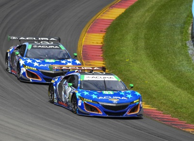 Acura, Lally & Legge Make It Two In A Row At Watkins Glen