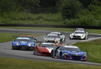 Acura, Lally & Legge Make Championship Gains At Lime Rock