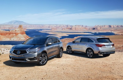 Acura MDX Production Begins At Second Facility In The U.S.