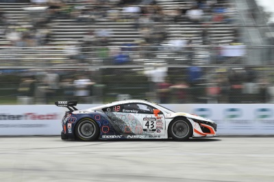 Realtime Racing Acura Nsx Gt3 Team Fights Hard In Long Beach Race Report