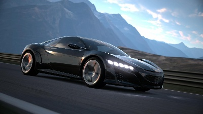 ACURA NSX SUPERCAR CONCEPT TO DEBUT IN VIRTUAL WORLD OF GRAN TURISMO®6 GAME