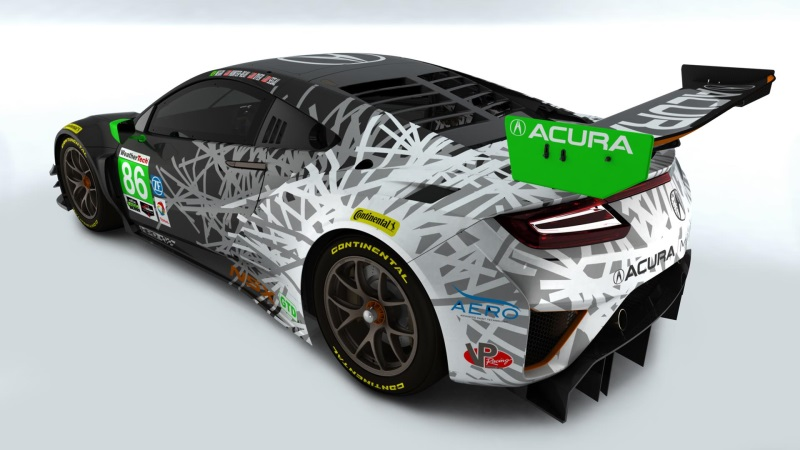 ACURA REVEALS NSX GT3 RACE LIVERIES; ROLEX 24 DRIVER PAIRINGS SET