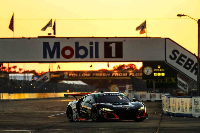 Eighth-Place Finish For Acura NSX GT3 At Sebring