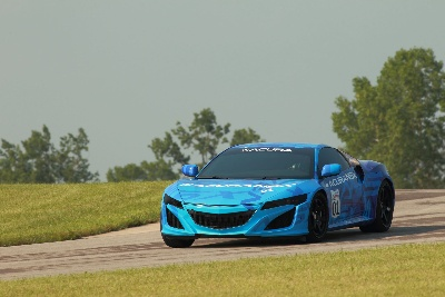 Acura NSX Prototype To Break Cover At Mid-Ohio Raceway Prior To Honda Indy 200 Indycar Race
