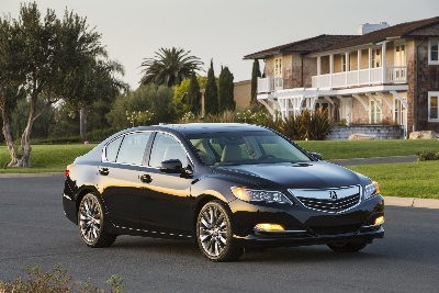 ACURA RLX EARNS TOP 5-STAR OVERALL SAFETY SCORE FROM THE NATIONAL HIGHWAY TRAFFIC SAFETY ADMINISTRATION