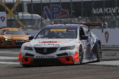 ACURA TLX GT EARNS FIRST WORLD CHALLENGE WIN ON STREETS OF ST. PETERSBURG