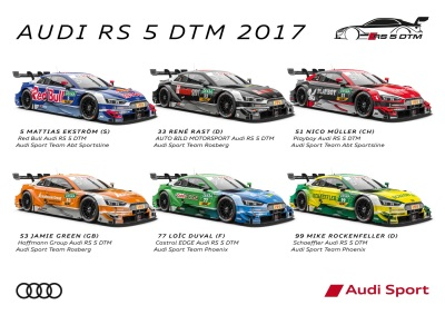 Racing Debut Of The New Audi RS 5 DTM