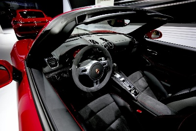 ITALIAN-MADE ALCANTARA TOOK CENTER STAGE AT L.A. AUTO SHOW