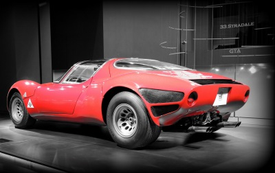 Alfa Romeo Celebrates 50Th Birthday Of The Legendary 33 Stradale