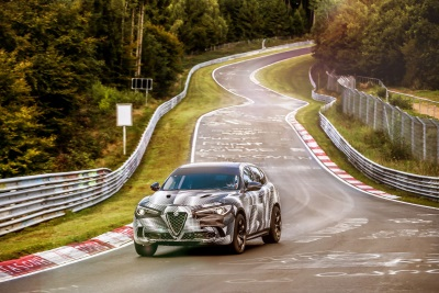 Alfa Romeo Stelvio Quadrifoglio Sets New Record For Fastest Production SUV At Nürburgring