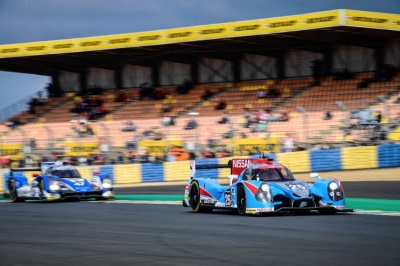ALGARVE PRO RECEIVES CHEQUERED FLAG AFTER CONSISTENT LE MANS DEBUT
