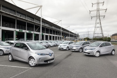 BIGGEST EVER UK ORDER OF THE ALL-ELECTRIC RENAULT ZOE TO SUPPORT EUROPCAR'S CITY-BASED DELIVER & COLLECT SERVICE