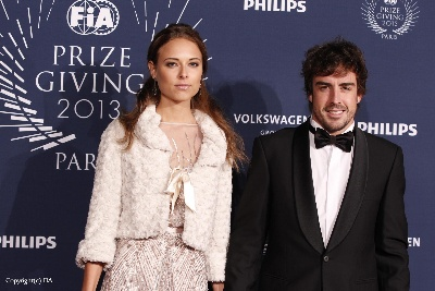 Alonso runner up with pride and style