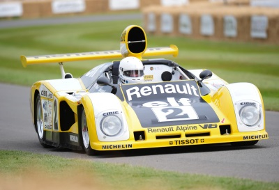 ALPINE – THE EXCITEMENT BUILDS AT THE 2016 GOODWOOD FESTIVAL OF SPEED