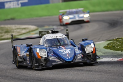Dress Rehearsal For The Alpine A470s At Monza