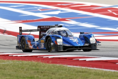 FROM POLE POSITION TO VICTORY: ALPINE'S AMERICAN DREAM