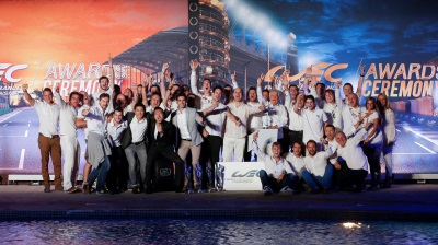 ALPINE CELEBRATES ITS WORLD TITLES
