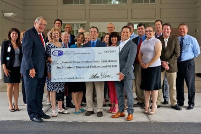 AMELIA CONCOURS INCREASES CHARITY GIVING IN 2015