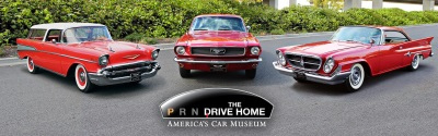 AMERICA'S CAR MUSEUM AND THE NORTH AMERICAN INTERNATIONAL AUTO SHOW ANNOUNCE 'THE DRIVE HOME II: THE HERITAGE RUN'