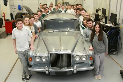 NEW APPRENTICES JOIN TEAM TO RESTORE CLASSIC BENTLEY