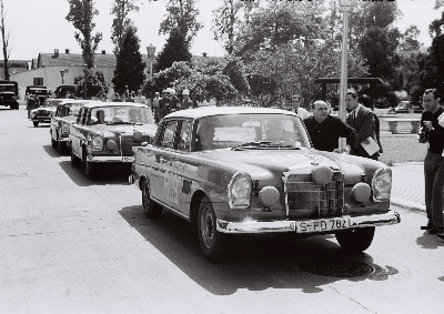 Triple victory in the Argentine Touring Car Grand Prix 50 years ago: fourth triumph in a row for Mercedes-Benz