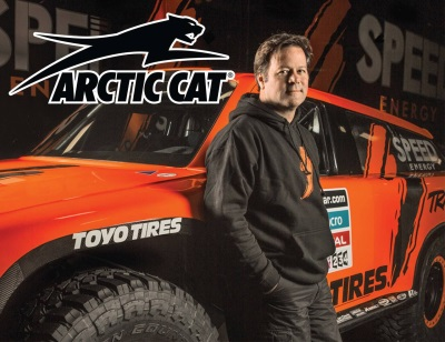 ARCTIC CAT ENTERS AGREEMENT WITH ROBBY GORDON AND TODD ROMANO'S SPEED RMG PARTNERS