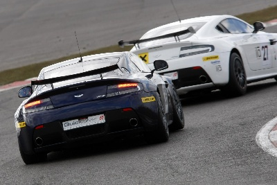ASTON MARTIN GT4 CHALLENGE GETS REFRESHING NEW PARTNER, THE LUXURY DRINK GIZE
