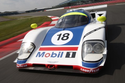 ASTON MARTIN GROUP C RACECAR FOR AUCTION AT RACE RETRO