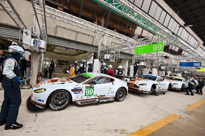 ASTON MARTIN TOPS BOTH GT CLASSES AT OFFICIAL LE MANS TEST SESSION