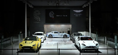 ASTON MARTIN AT THE GUANGZHOU AUTO SHOW - THE NEXT CENTURY OF POWER, BEAUTY AND SOUL